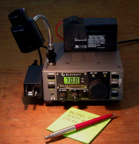 W5TOM's QRP CW Rigs